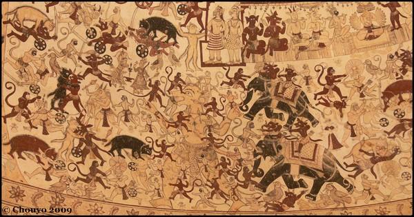 Fresque Ramayana