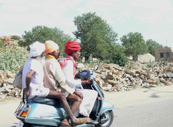 Scooter Shekhawati