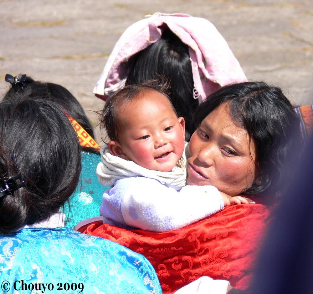 Bébé Bhoutan
