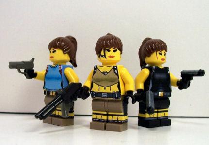 Lara Croft Lego