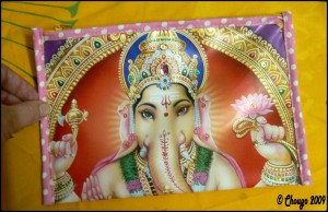 Pochette Ganesha