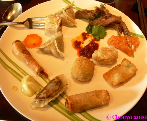 Brunch chinois Marriott Mumbai