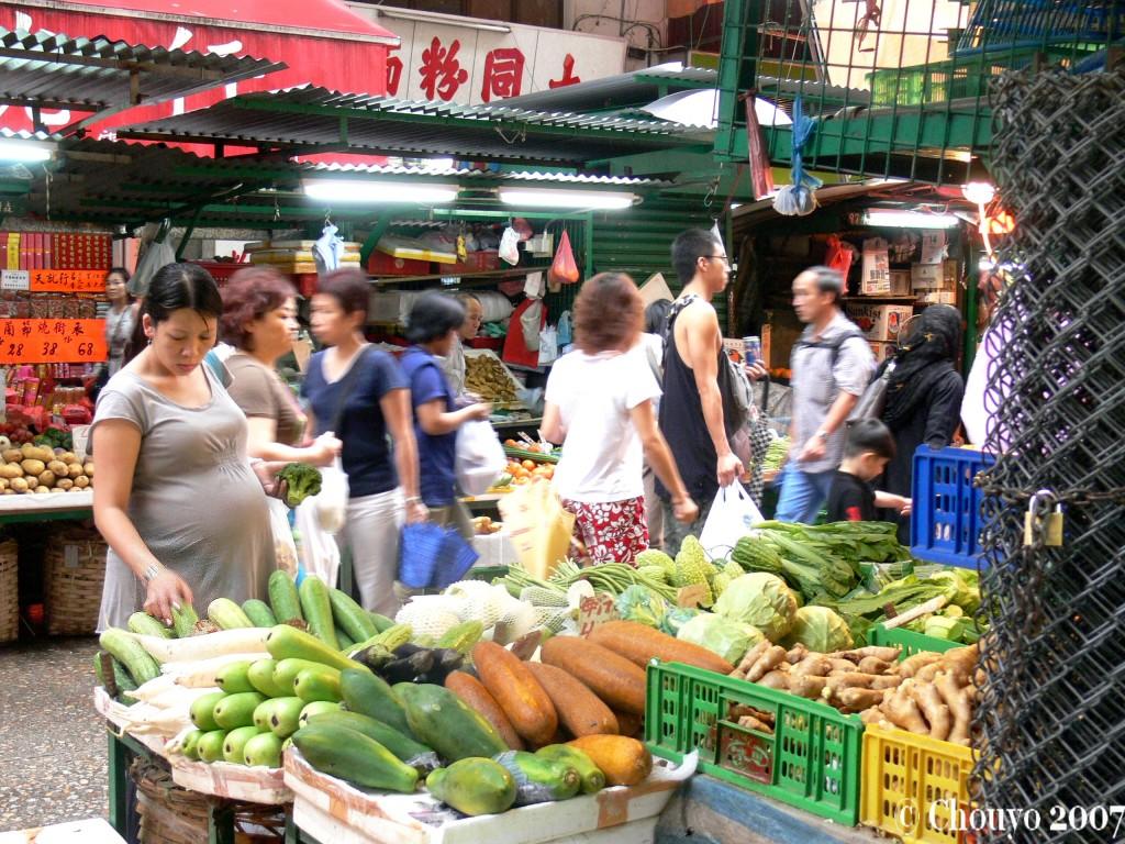 Marché Hongkong