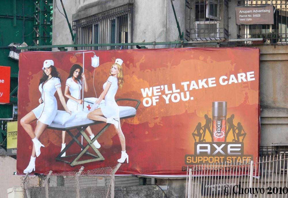 Publicité Axe Mumbai