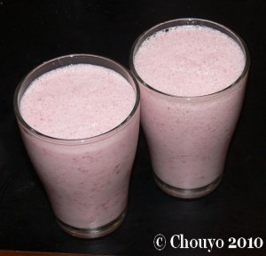 Milk-shake fraises