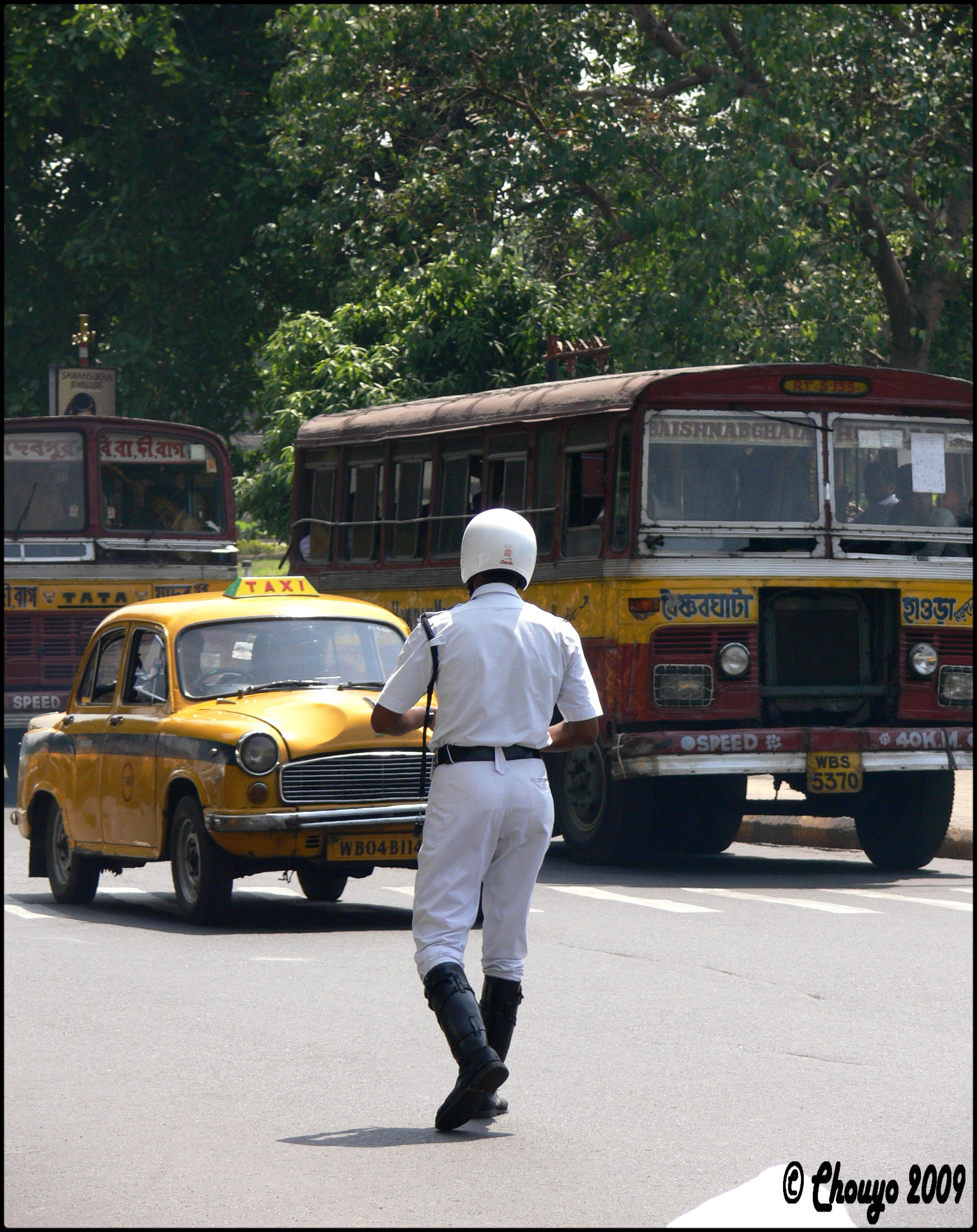 Policier Calcutta
