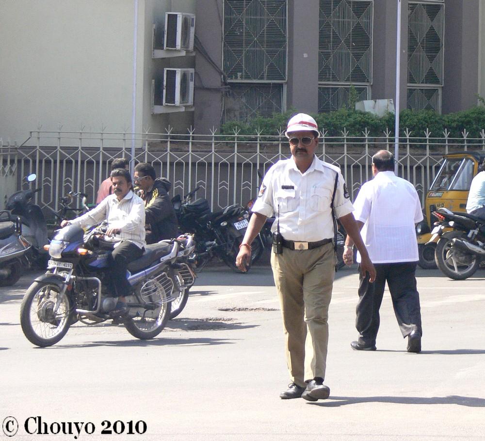 Policier Hyderabad