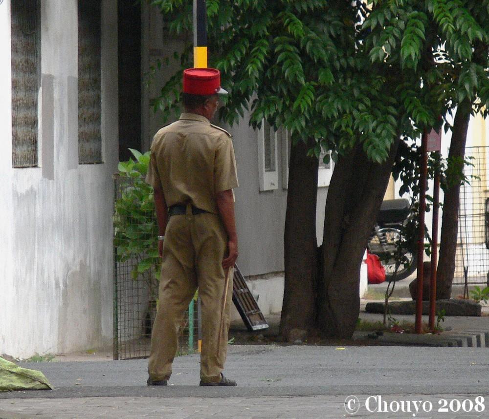 Policier Pondichéry