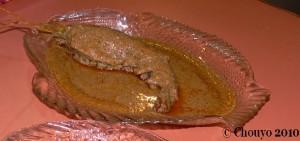 Restaurant bengali crevette