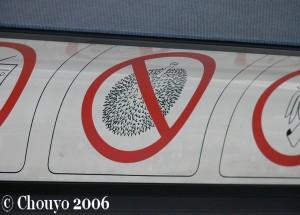 Singapour panneau 2