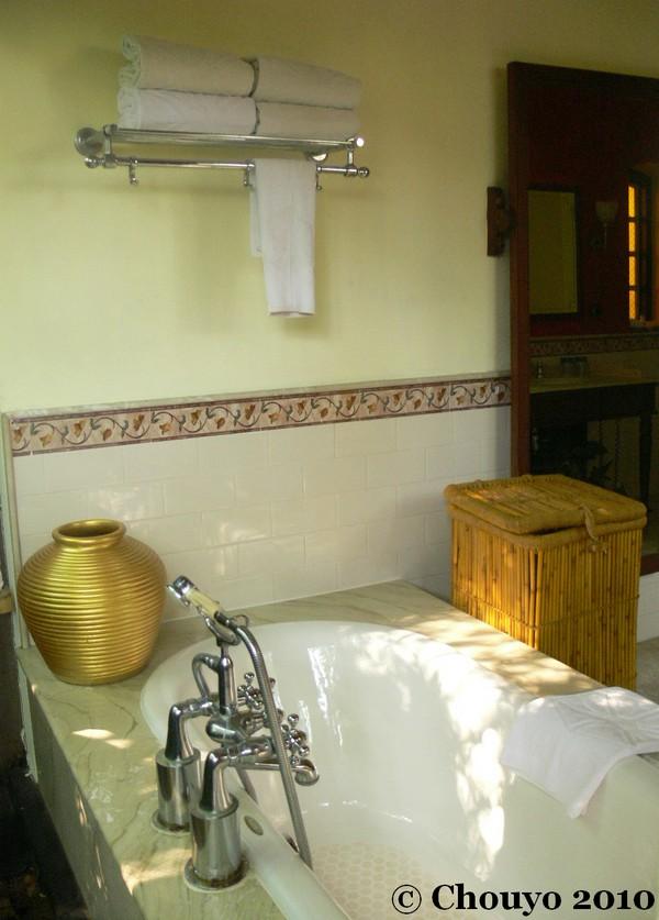 Taj Kumarakom salle de bain 4