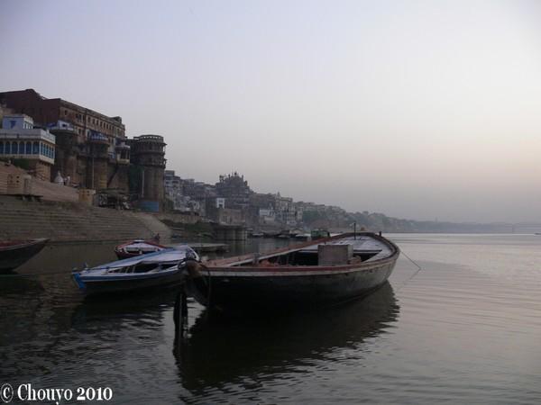 Bénarès barque