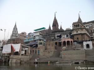 Bénarès ghats