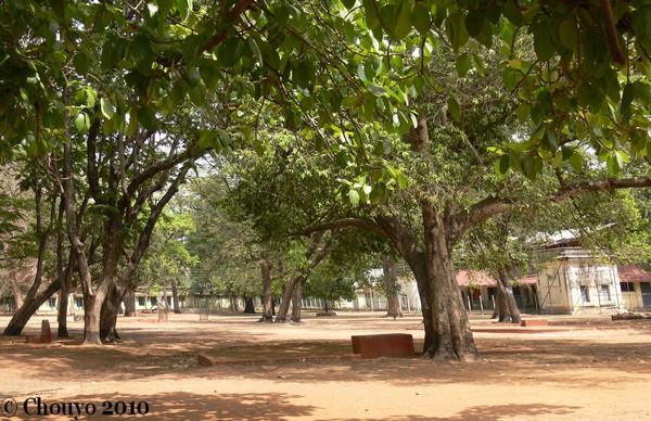 Shantiniketan salles de cours