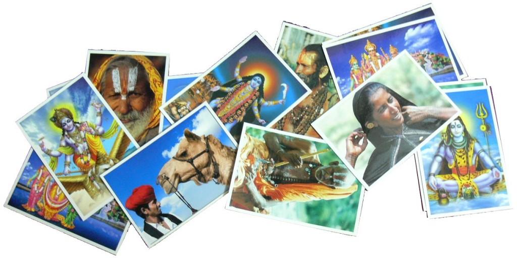 Cartes postales Inde