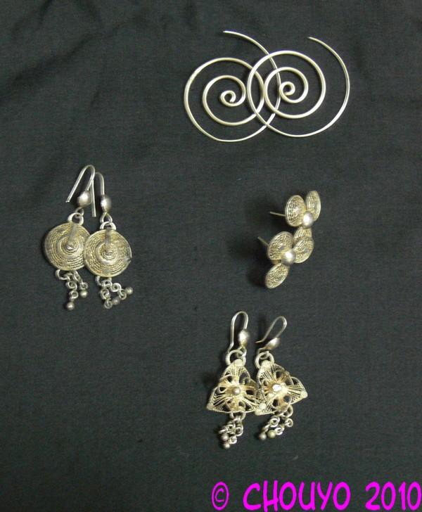 Boucles d'oreille Orissa 2