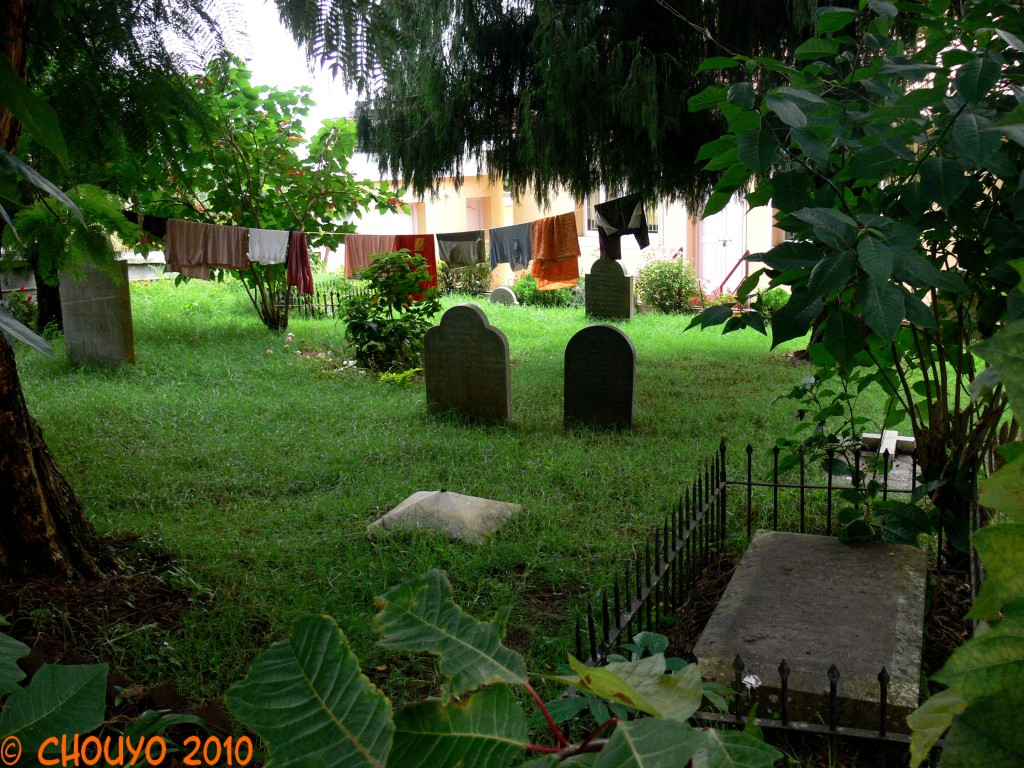 Coonoor Cimetière All Saints Church