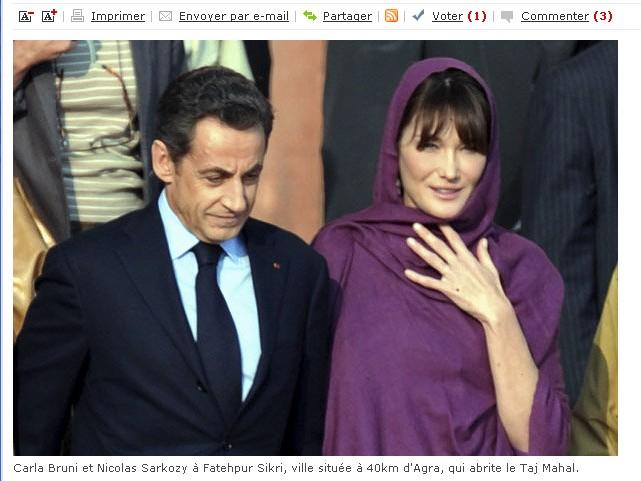Sarkozy Inde