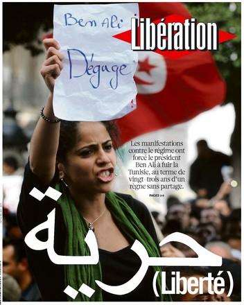Libération Une