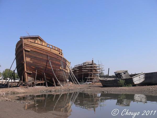 Mandvi bateaux