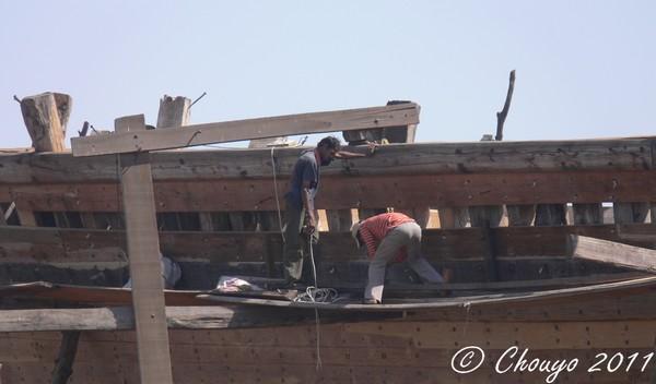 Mandvi chantier