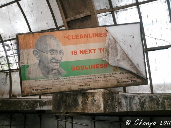 Mumbai Gandhi Cleanliness