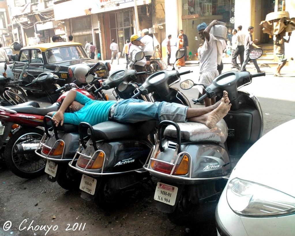 Bombay Lit de scooters