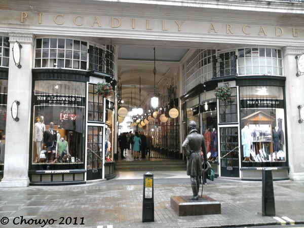 Londres Piccadilly Arcade