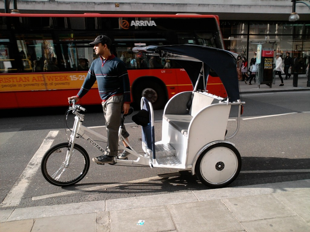 Londres Rickshaw