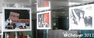 Révolution tunisienne expo IMA 2