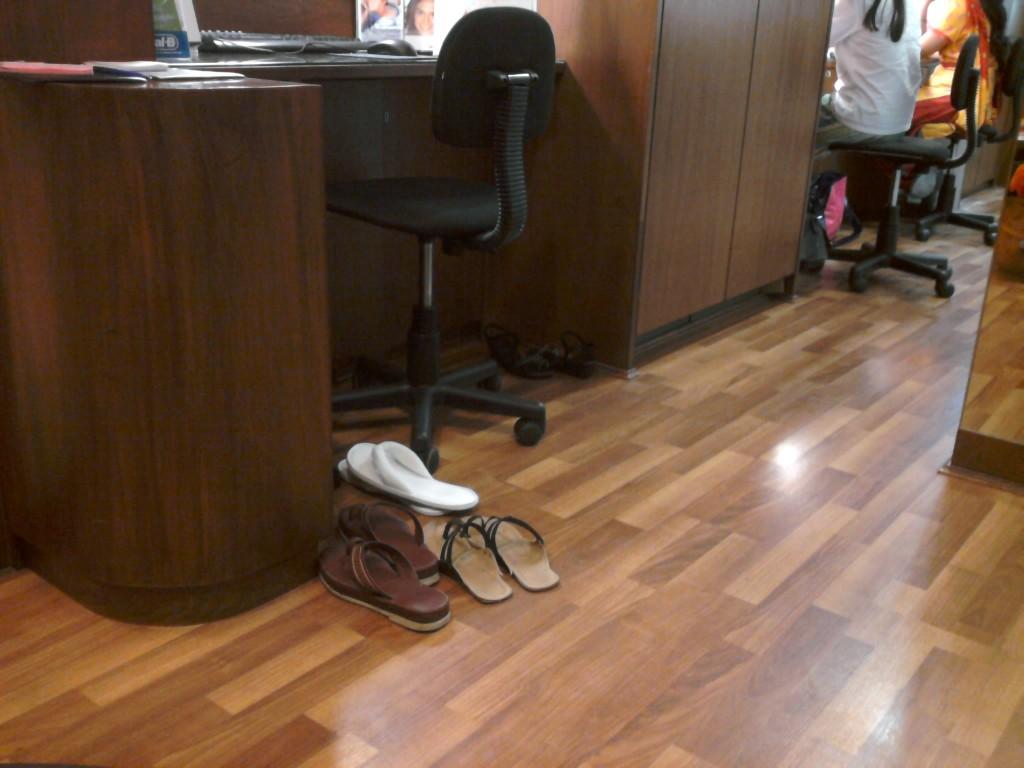 Mumbai Dentiste chaussures