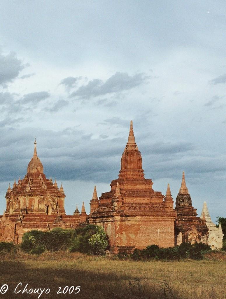 Birmanie Bagan stupa 3