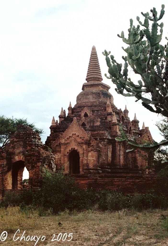Birmanie Bagan stupa