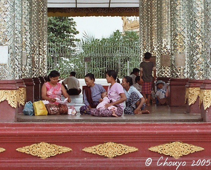 Birmanie Rangoon Paya Shwedagon 3