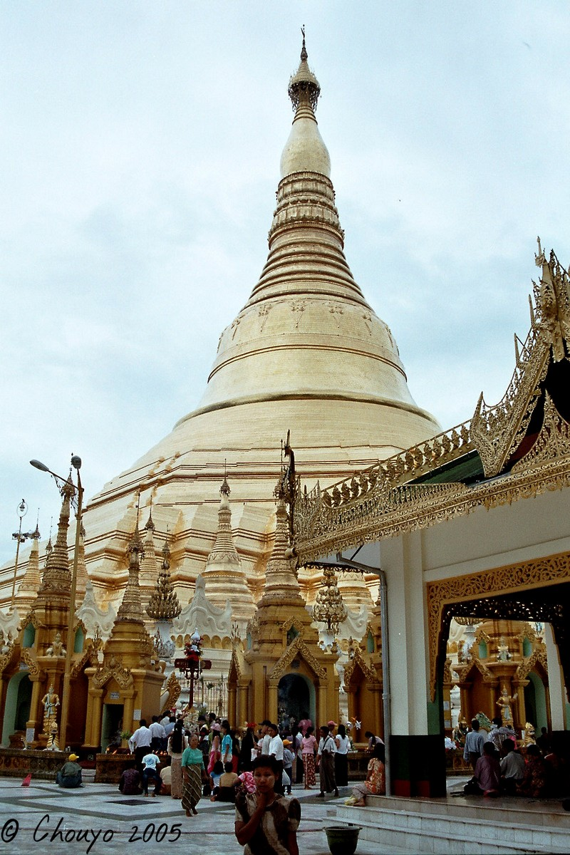 Birmanie Rangoon Paya Shwedagon
