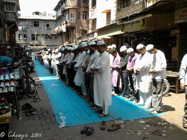 Bombay Prière musulmane 1