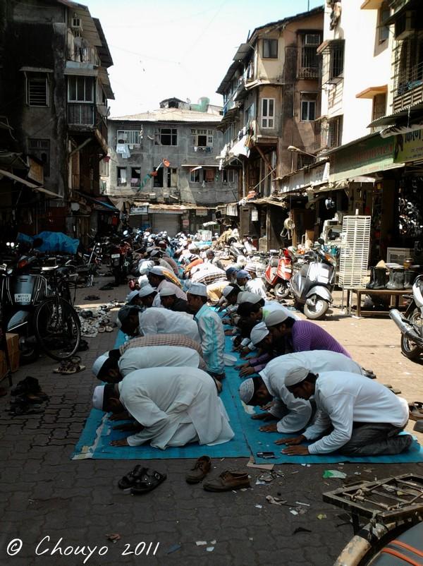 Bombay Prière musulmane 3
