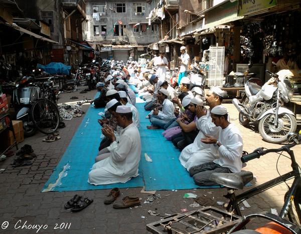 Bombay Prière musulmane 6
