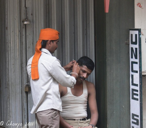 Mumbai Nettoyeur d'oreilles