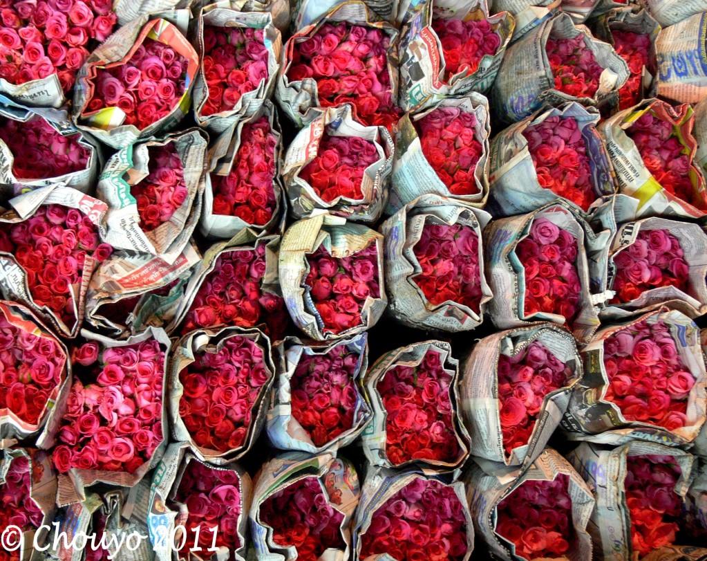 Bangkok Marché aux Fleurs 1