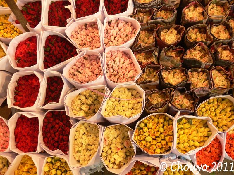 Bangkok Marché aux Fleurs 2