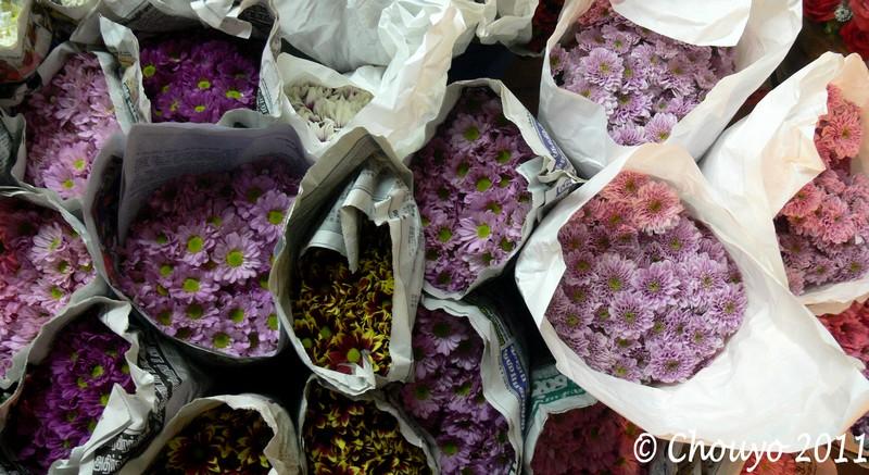 Bangkok Marché aux Fleurs 3