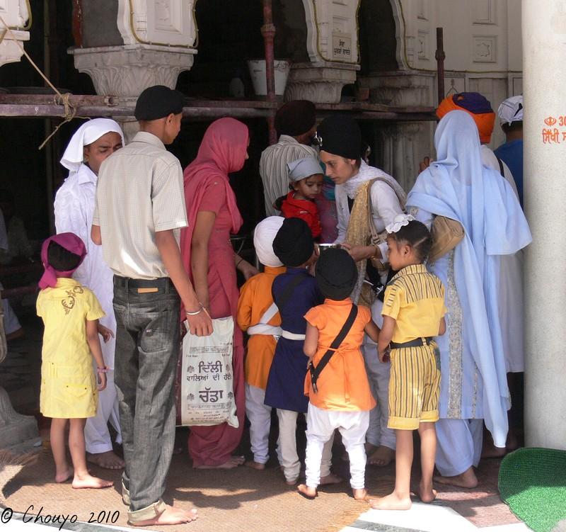 Amritsar Fidèles