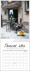 Calendrier Bombay Janvier