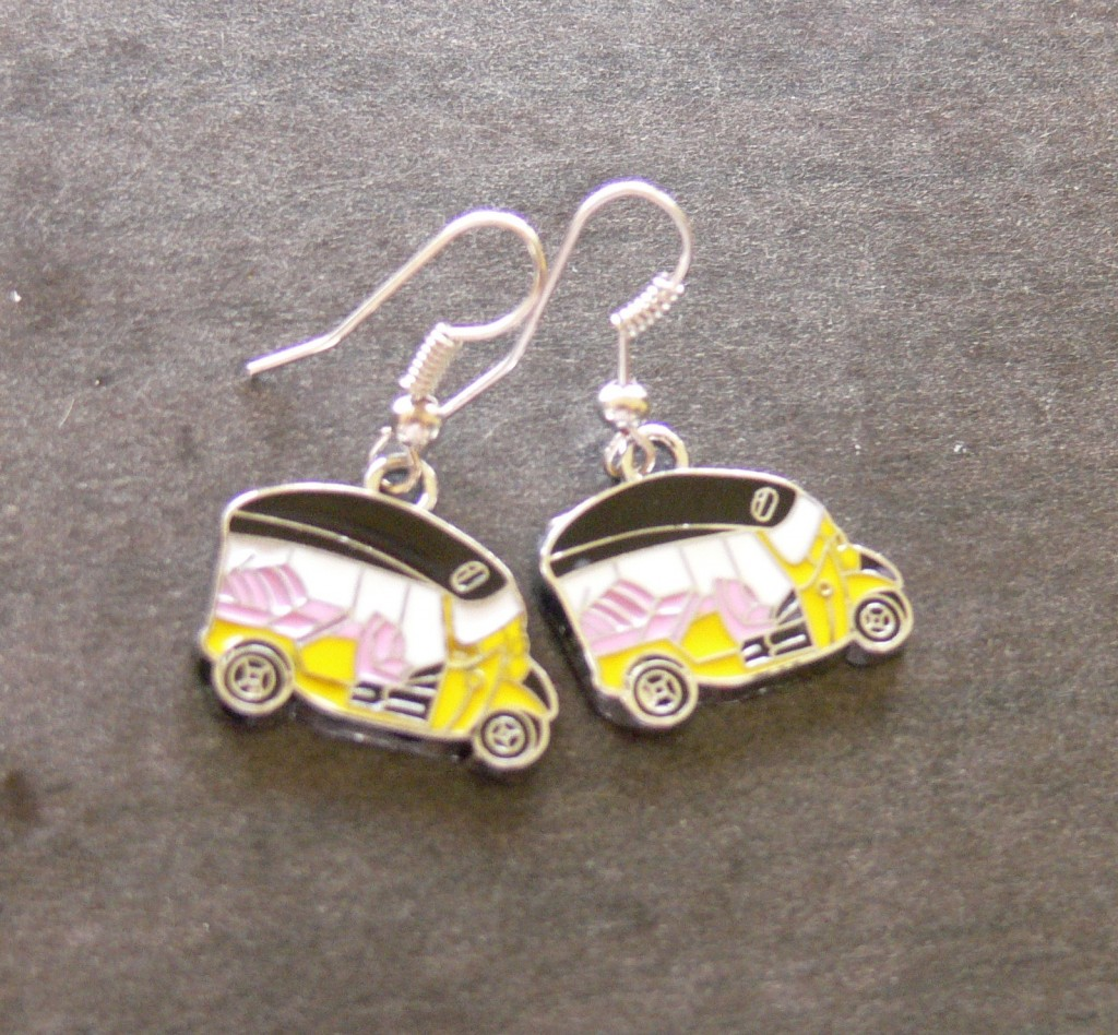 Rickshaws boucles d'oreille