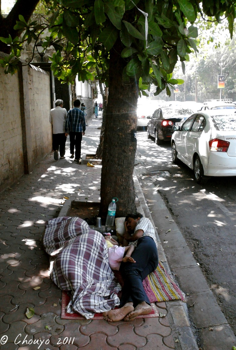 Bombay Dormeurs de rue blog