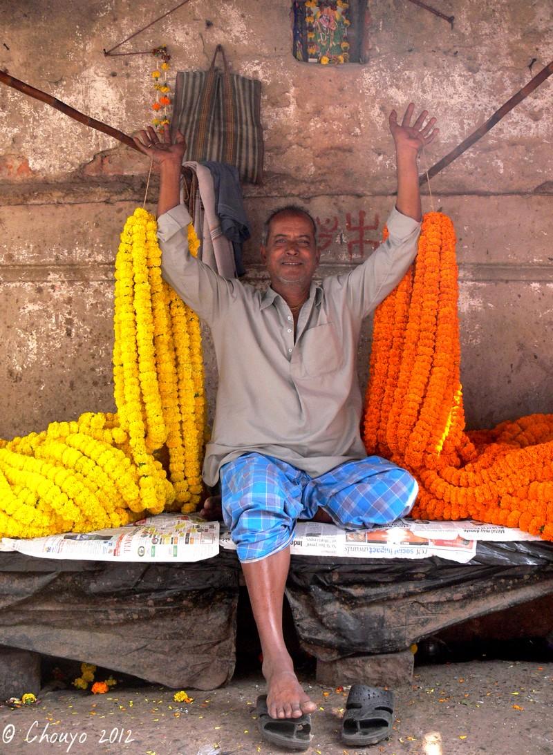 Calcutta Marché aux Fleurs Maître blog