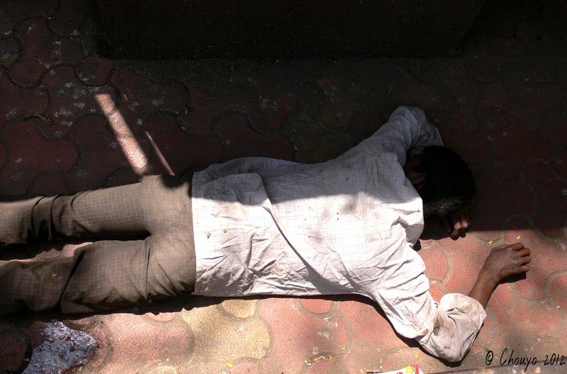 Bombay Portrait dormeur blog