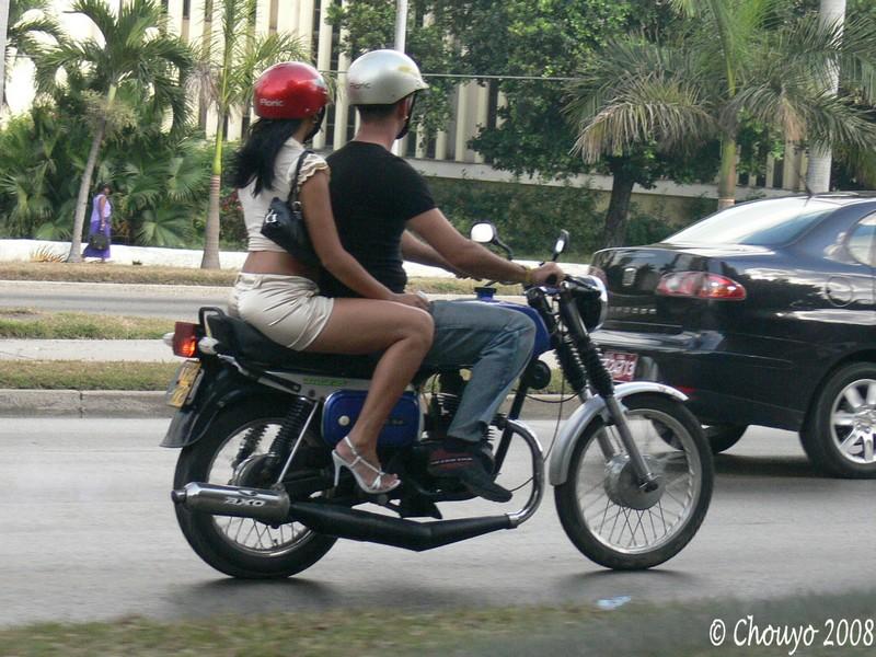 Cuba La Havane Moto blog