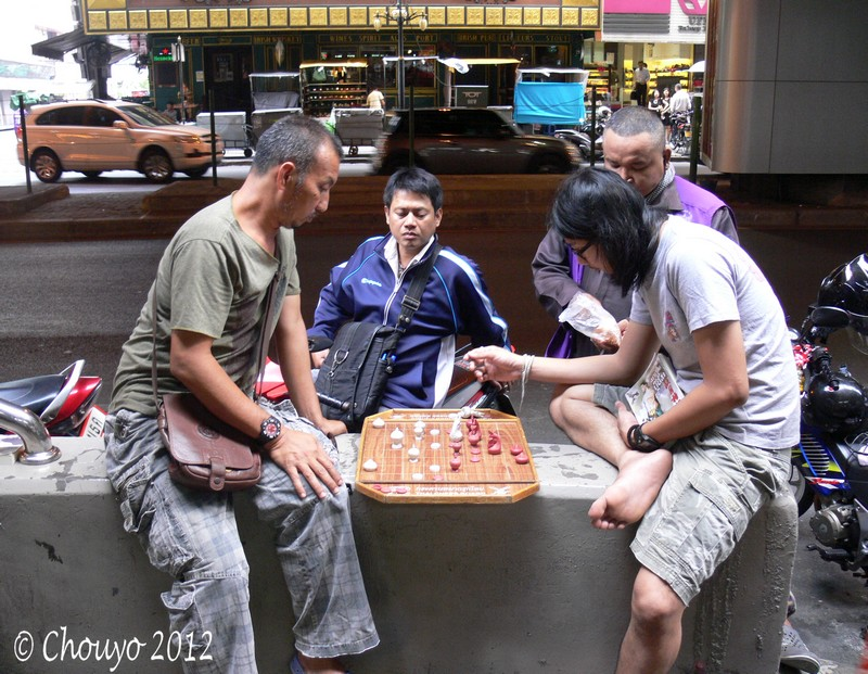 Thaïlande Joueurs d'échecs